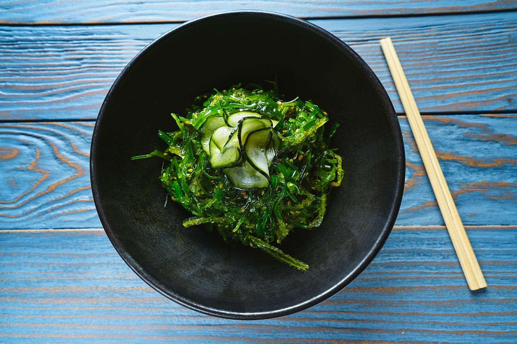 algas marinas dieta y nutrición